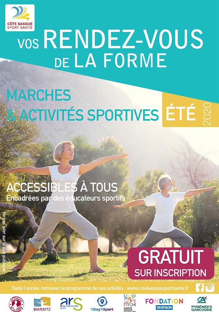Sport Santé Pays Basque août 2020