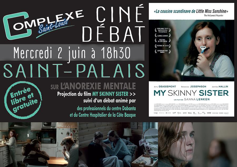 Anorexie mentale Ciné Débat Saint Palais 2 juin
