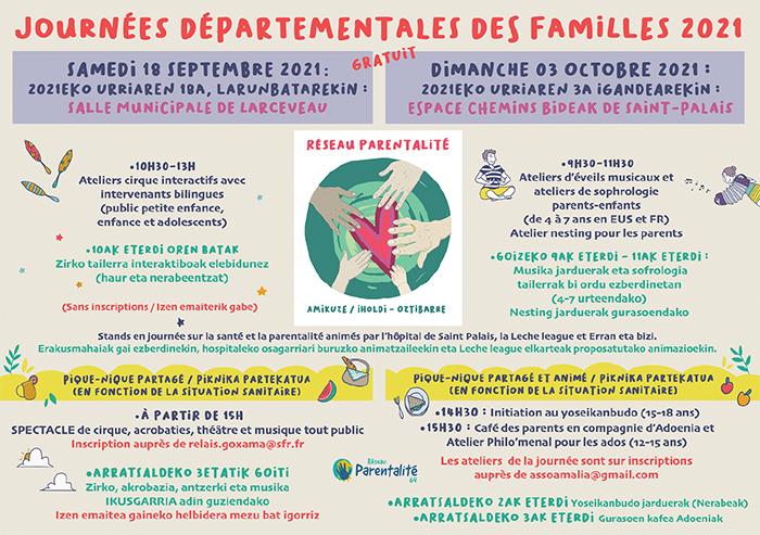 journées des familles santé parentalité 18 septembre Larceveau