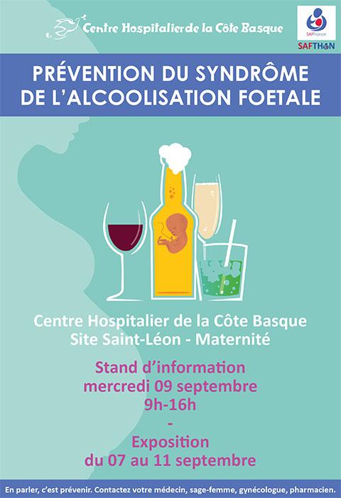 Journée Mondiale de Prévention de l'Alcoolisation Foetale (SAF) Bayonne 9 septembre