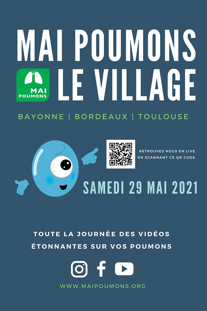 Mai Poumon 6ème édition onlineToulouse Bordeaux Bayonne 29 mai